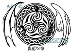 Precious Life Celtic Tattoo by WildSpiritWolf