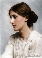 Virginia Woolf by MemoriesOfTime97