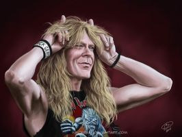 Janick Gers 4: devil by Windfreak