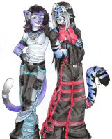 Trade 19 - Bevan and Luna by Horus-Goddess