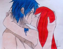 jellal and erza by ssnzhd