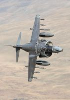 BAe Harrier GR9 by Albi748