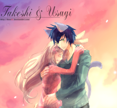 [C] Takeshi and Usagi by BooS2