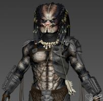 Predator - ZBrush WIP by FoxHound1984