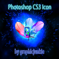 Photoshop CS3 Glass Icon by graphicjunkie
