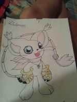Gatomon by King-Crab-5Ds-Rival
