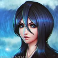 Rukia Kuchiki by oneillustrates