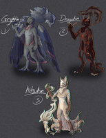 Kinisp Adoptables [Closed] by Aevix