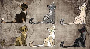 Cat Adopts VI CLOSED by LunAdopts