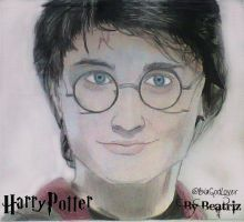 Harry Potter - Desenho-Drawing by BeatrizLoveMyJesus