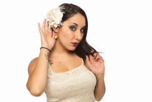 Goomba Earring Photo Shoot by Pixelosis