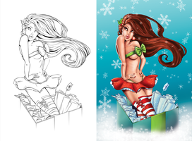 2011 Christmas Side-by-Side by SarahPerryman
