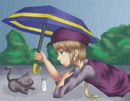 Cam and a Kitty by Tannith