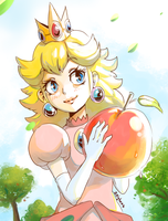 Peach and peach by Zeighous