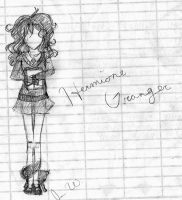 Hermione Can't Draw... by peace-love-edward