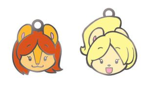 Peaches and Cream Charms by CookingPeach