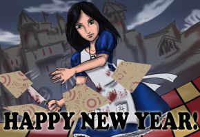 Happy New Year! by freelance-kitty