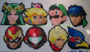 Sm4sh Beadsprite Icons by VV-Weegee