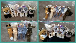 Unitoy Fox Collection! by Vesperwolfy87