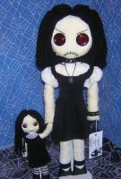 creepy dolls by Zosomoto