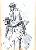 Benicio DelToro as Jigen by aryundomiel