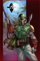 Boba Fett - BA Color Battle 02 by TrinityMathews