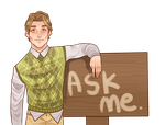 Joseph Young: Ask Me by SatiricalKat