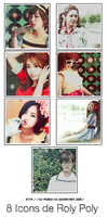 T-ara Icon Pack Roly Poly by xX-Peach-Xx
