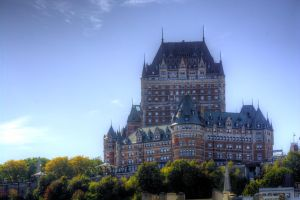 Chateau Frontenac by Maxfusion6