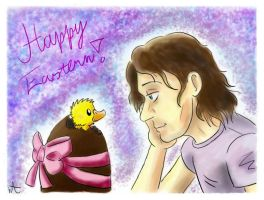 Frohe Ostern by Winered-Angel