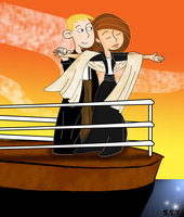 Kim and Ron-Titanic Crossover by KPRS4ever