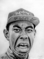 Tyler The Creator by swiftlogix