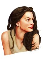 Anne Hathaway by ObsidianTesseract