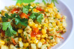 Fried Corns by Kiug