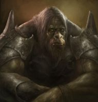 Ogre Sitting by vshen