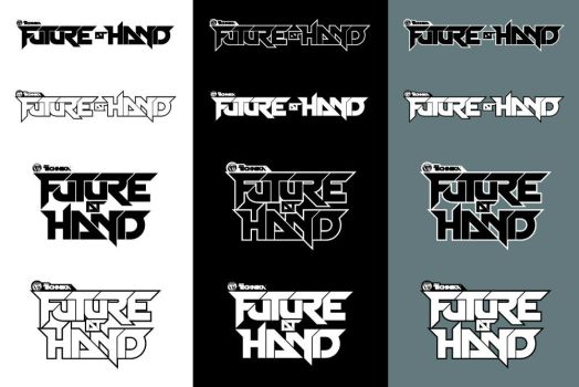 Future At Hand: Title Logotype by JohnETorres