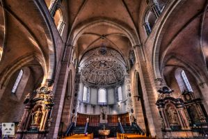 Trier Cathedral HDR Two. by snuglyPanda