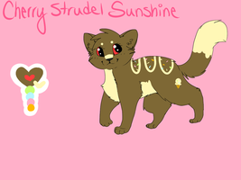 strudel reference by wingedkin