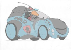 contemporary technology anthro car by meatboom