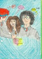 Harry Ron and Hermyone by Mid-hour-bewitching