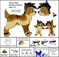 Blue Ref Sheet - New Colors by Miiroku