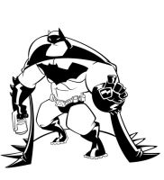 HenHen's Batman by awgie