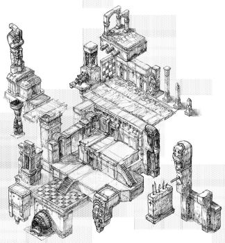 Isometric Set.Draft01 by CrankBot