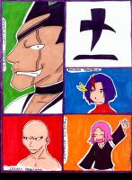 Bleach-Division 11 by Haileyjo13