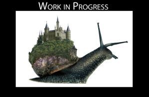 Work in Progress Snail by snipes2