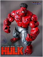 Red Hulk Portrait by Lokoboys