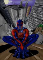 Spiderman 2099 by Ronron84