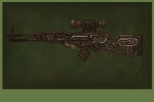 huntsman sniper by The-Only-Myself