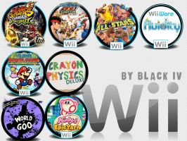 Wii Game Icon Pack 1 by BLACK-IV