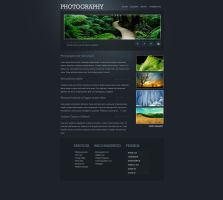 Photography Webdesign 1 by Poisongage